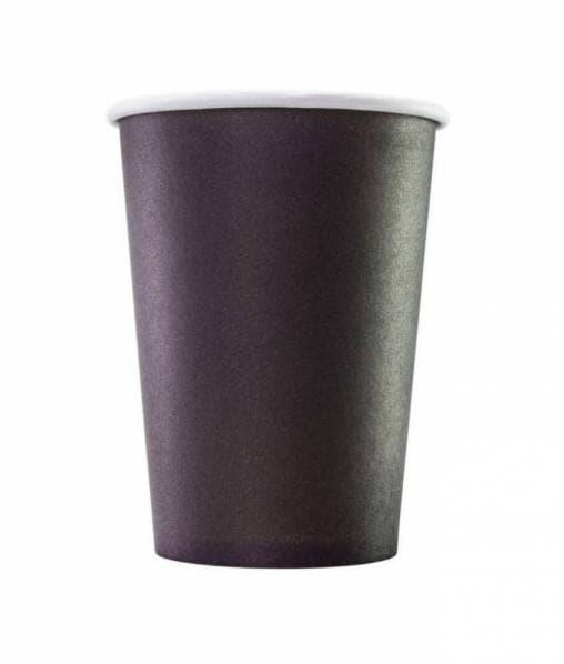 Бумажный стакан Huhtamaki SP9 черный d=80 200мл