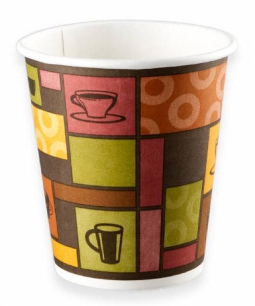 Бумажный стакан Huhtamaki SP9 Чашки (100 шт) d=80 200мл