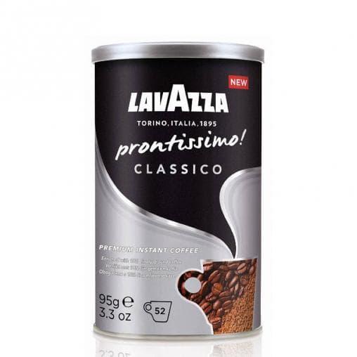 Кофе раств. с молотым Lavazza Prontissimo Classico банка 95г