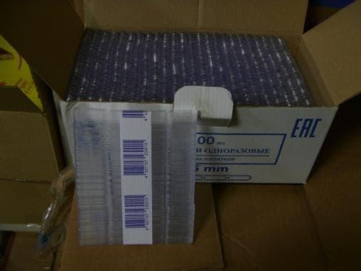Размешиватели прозрачные для вендинга 105мм