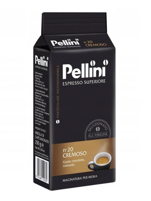 Кофе молотый Pellini nº20 Moka Cremoso 250 г (0,25 кг)