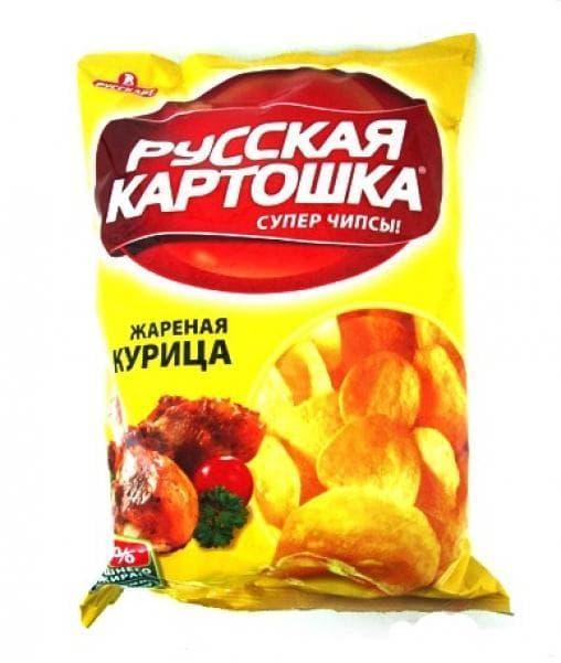 Чипсы Русская Картошка Курица 20г