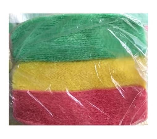 Салфетки бум. цветные ассорти 24*24см 75 листов
