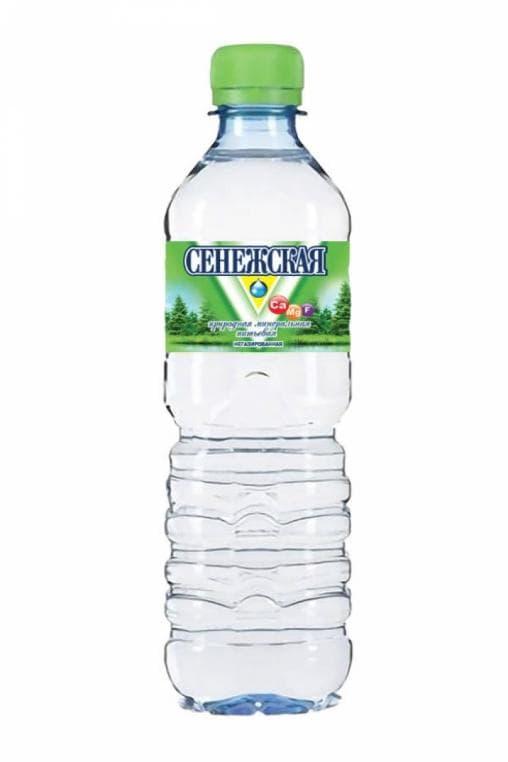 Вода минеральная Сенежская негазированная 500 мл ПЭТ