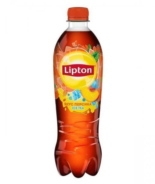 Чай ПЕРСИК Lipton Tea 500мл ПЭТ