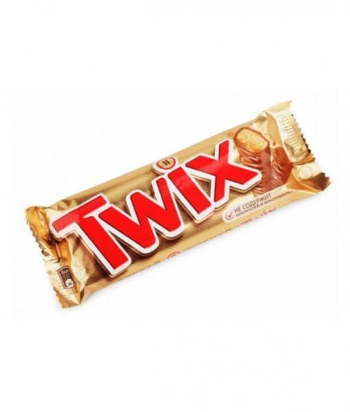 Батончик шоколадный Твикс Twiks 55 грамм