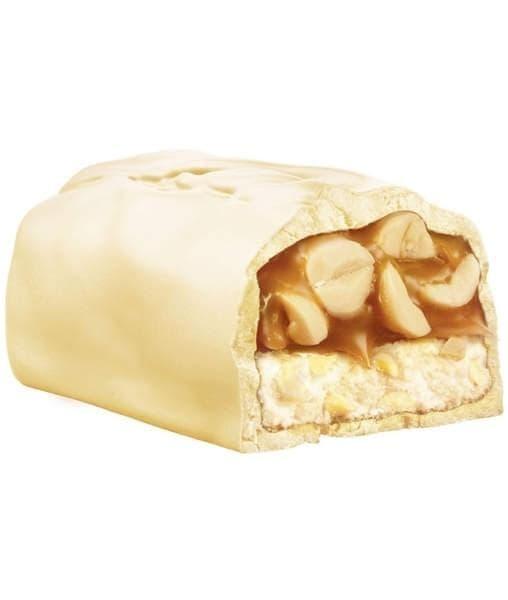 Батончик шоколадный Белый Сникерс White Snickers super 81 г