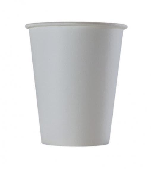 Бумажный стакан Белый d=70 150мл
