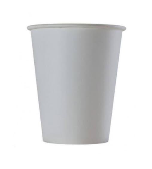 Бумажный стакан Белый d=72 180мл