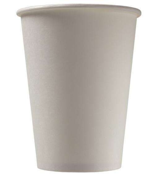 Бумажный стакан Белый d=90 400мл