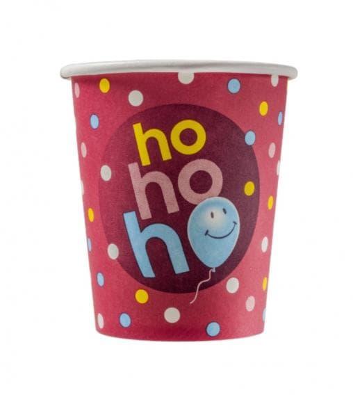 Бумажный стакан Ho-ho-ho d=80 250мл