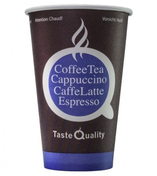 Бумажный стакан Taste Quality (100 шт) d=80 300мл