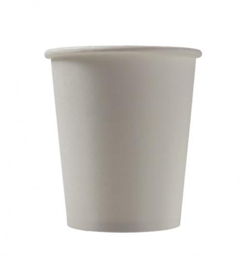 Бумажный стакан Белый 2-слойный d=80 250мл