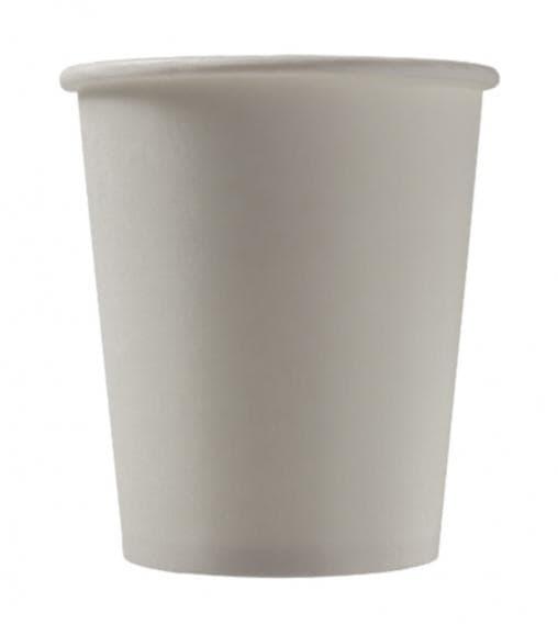 Бумажный стакан Белый 2-слойный d=90 300мл