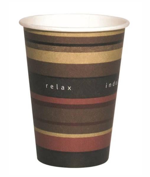 Бумажный стакан FLO Benders d=80 250мл