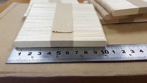 Деревянный размешиватель 105мм