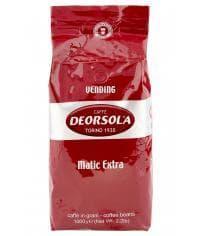 Кофе в зернах Deorsola Matic Extra Caffe 1000 гр (1кг)