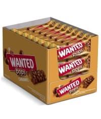 Шоколадный батончик ETi WANTED POPS Caramel 28 г