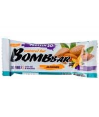 Батончик BOMBbar неглазированный Миндаль 60г