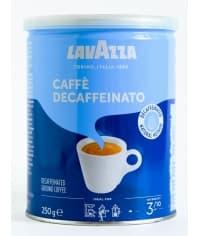 Кофе молотый Lavazza Caffe Decaffeinato 250г (банка)