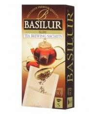 Фильтр-пакеты Basilur для заваривания листового чая (80 шт.)