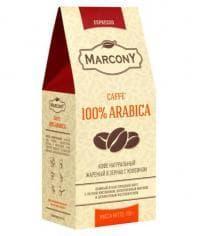Кофе зерновой Marcony Espresso Caffe 100% Arabica 250 гр (0,25 кг)