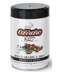 Кофе молотый Carraro Dolci Arabica в банке 250 г (0,25 кг)