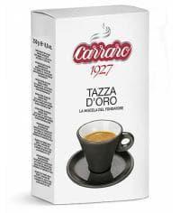 Кофе молотый Carraro Tazza d'Oro 250 г (0,25кг)