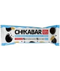 Батончик CHIKABAR белый шоколад хруст. печенье 60 г