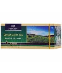 Чай Diplomat Ceylon Зелeный 25 пак.