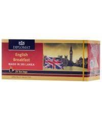 Чай черный Diplomat English Breakfast 25 пак.