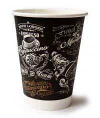 Бумажный стакан ECO CUPS d=90 350мл