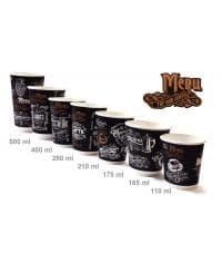 Бумажный стакан ECO CUPS d=90 500мл