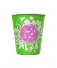 Бумажный стакан Spring in the Air d=70 150мл