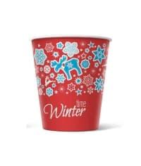 Бумажный стакан Winter Time d=70 150мл