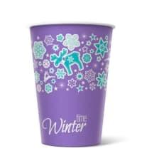 Бумажный стакан Winter Time d=80 300мл