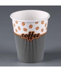 Бумажный стакан Fortecup Джентельмен d=70 165мл