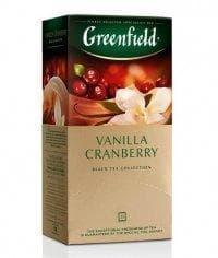 Чай черный Гринфилд Ванилла Крэнберри (25 пак. х 1,5г.)
