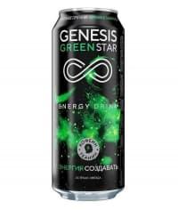 Genesis Green Star энерготоник 500мл ж/б
