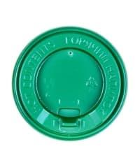 Крышка с клапаном Зеленая d=89