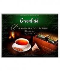 """Гринфилд Набор """"Коллекция чая в пирамидках"""" 12 видов (60 пирам.), 110 г."""