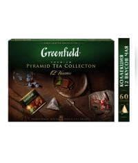 Greenfield Коллекция чая в пирамидках 12var (60пир.) 110г
