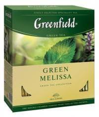 Чай зелёный Greenfield Green Melissa 100 пак. х 1,5г