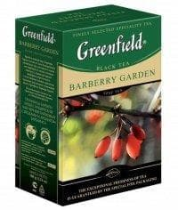 Чай черный Greenfield Barberry Garden листовой 100г