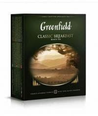 Чай черный Гринфилд Классик Брекфаст, 100 пак. х 2г.