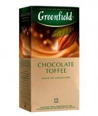 Чай черный Greenfield Chocolate Toffee (25 пак. х 1,5г)