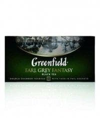 Чай черный Greenfield Earl Grey Fantasy (25 пак. х 2г)