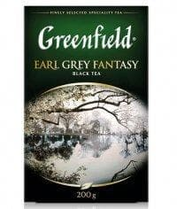 Чай черный Greenfield Earl Grey Fantasy листовой 200г