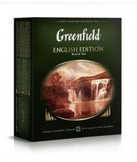 Чай черный Гринфилд Инглиш Эдишн, 100 пак. х 2г.