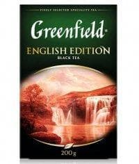 Чай черный Greenfield English Edition листовой 200г